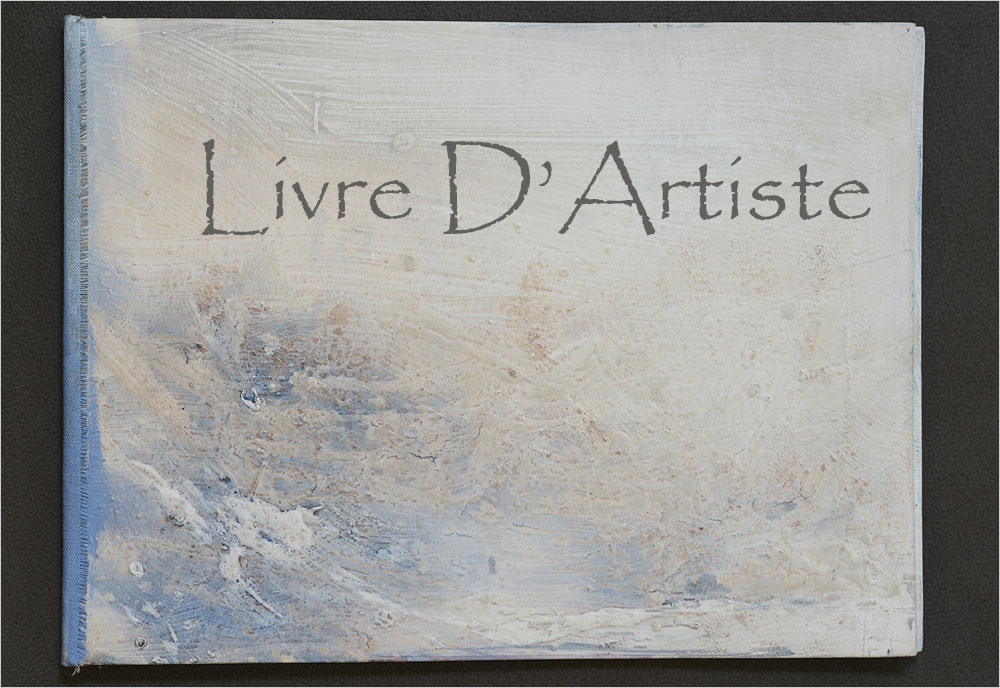 Livre d'Artiste de MCBOH Peintre Plasticien Marie-Claude Bohnenblust Lenglart